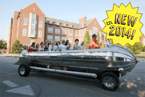 Rocket Ship Car Tours