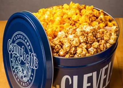 Campbells 2 Gallon Popcorn Tin