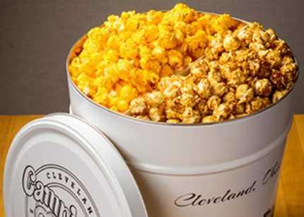Campbells 3 Gallon Popcorn Tin