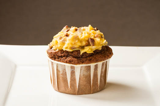 Campbells-Sweets-German-Chocolate-Cupcake-Close